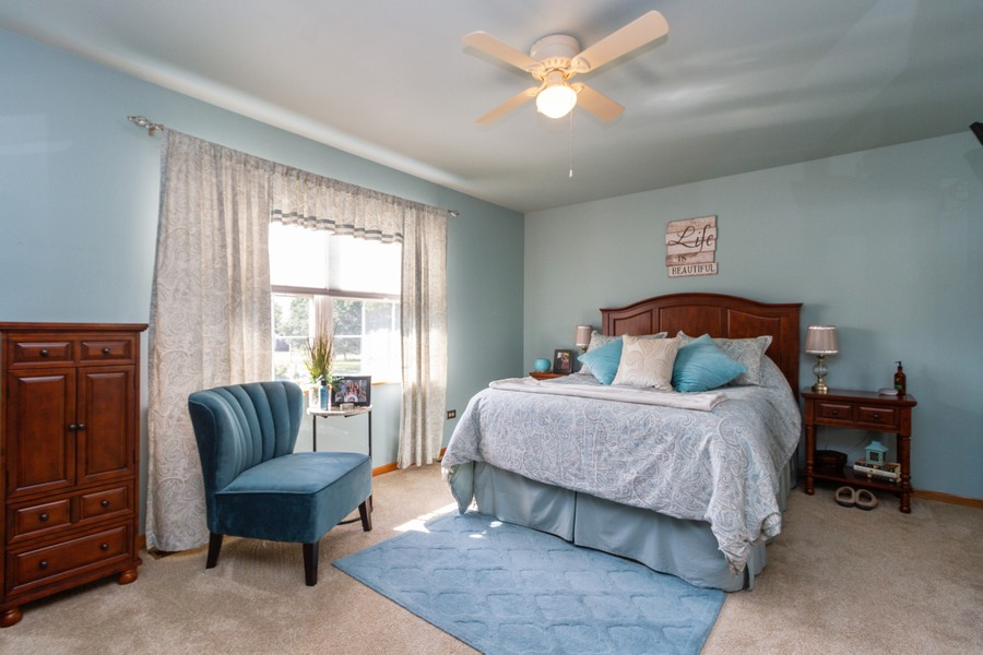Real Estate Photography - 5 Layden Circle, Manteno, IL, 60950 - Bedroom