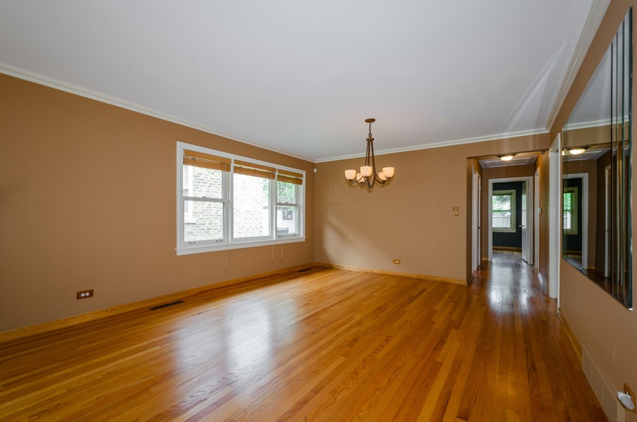 Real Estate Photography - 6541 N. Caldwell, Chicago, IL, 60646 - Dining Room