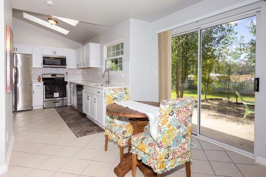 Real Estate Photography - 609 Salem Circle, Oswego, IL, 60543 - Kitchen / Breakfast Room