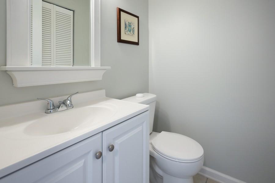 Real Estate Photography - 609 Salem Circle, Oswego, IL, 60543 - Powder Room
