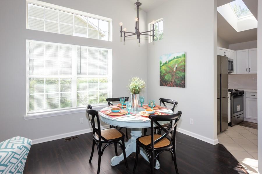 Real Estate Photography - 609 Salem Circle, Oswego, IL, 60543 - Dining Area