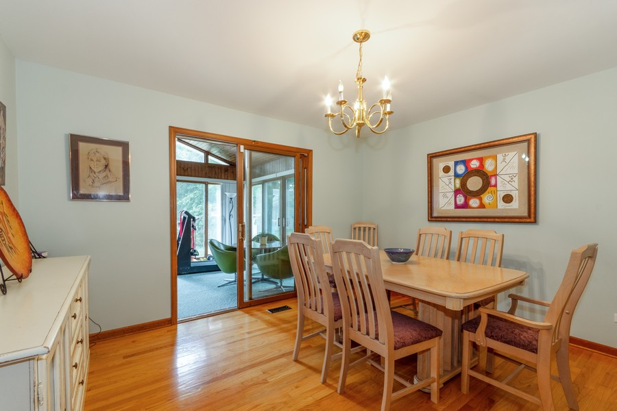 Real Estate Photography - 2310 Taliesin Drive, Aurora, IL, 60506 - Dining Room