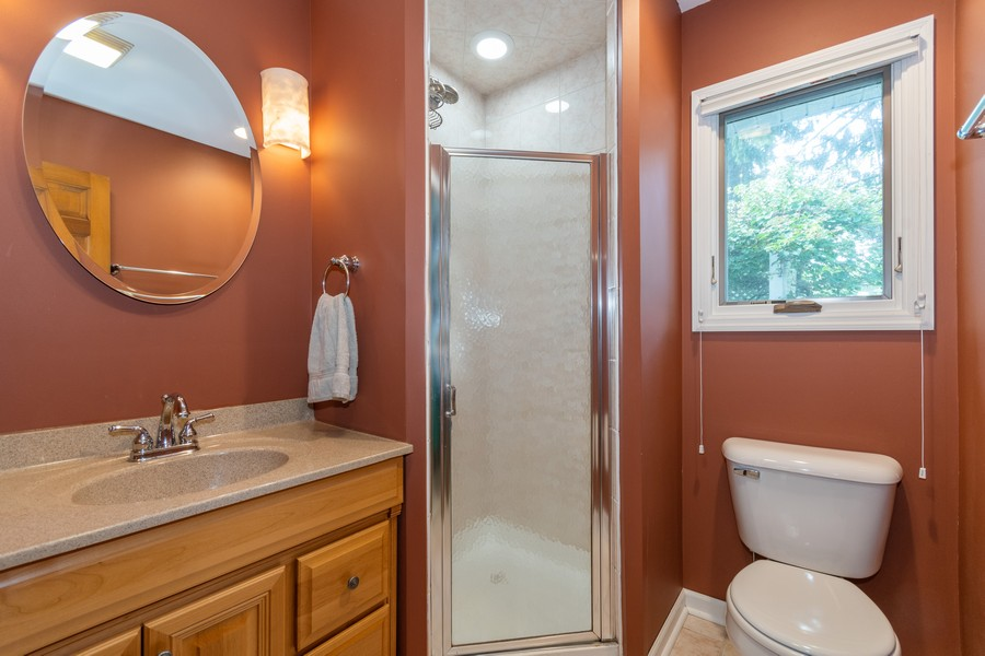 Real Estate Photography - 2310 Taliesin Drive, Aurora, IL, 60506 - 2nd Bathroom
