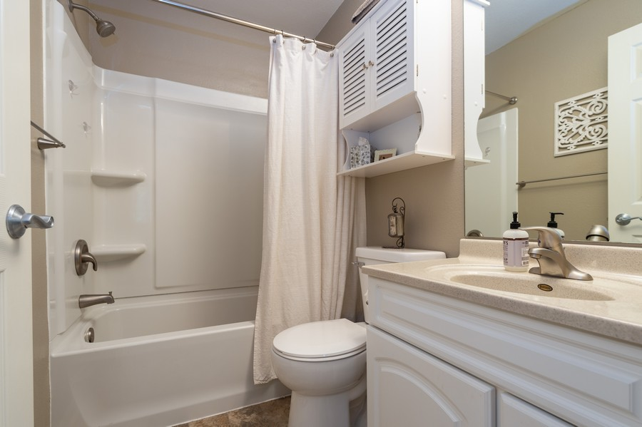 Real Estate Photography - 1108 N. Milwaukee St. Unit 156, Milwaukee, WI, 53202 - Master Bathroom