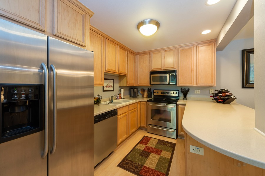 Real Estate Photography - 1108 N. Milwaukee St. Unit 156, Milwaukee, WI, 53202 - Kitchen