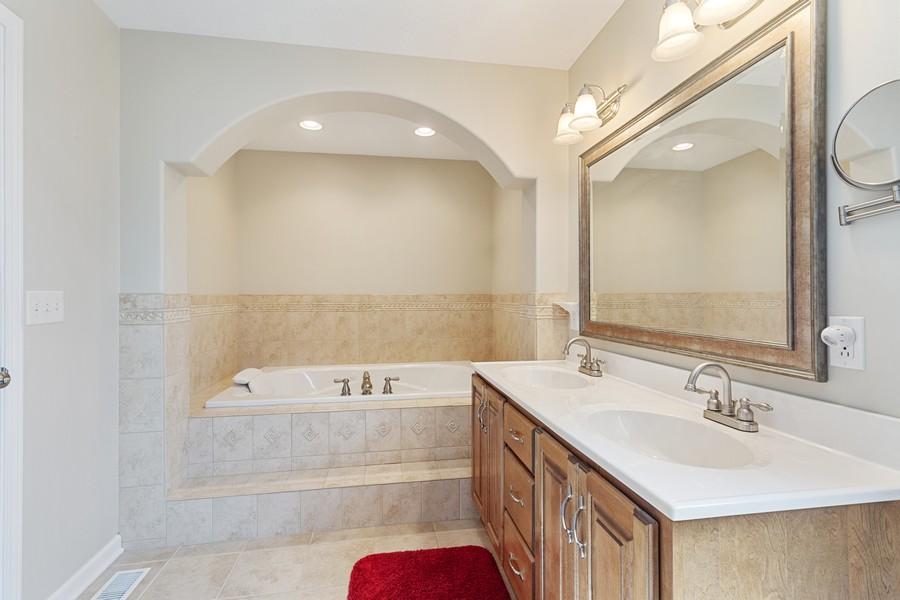 Real Estate Photography - 1726 Bridle Ct, Bourbonnais, IL, 60914 - Master Bathroom