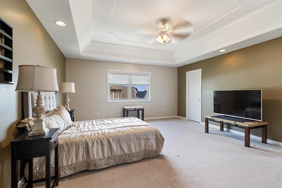 Real Estate Photography - 1726 Bridle Ct, Bourbonnais, IL, 60914 - Master Bedroom