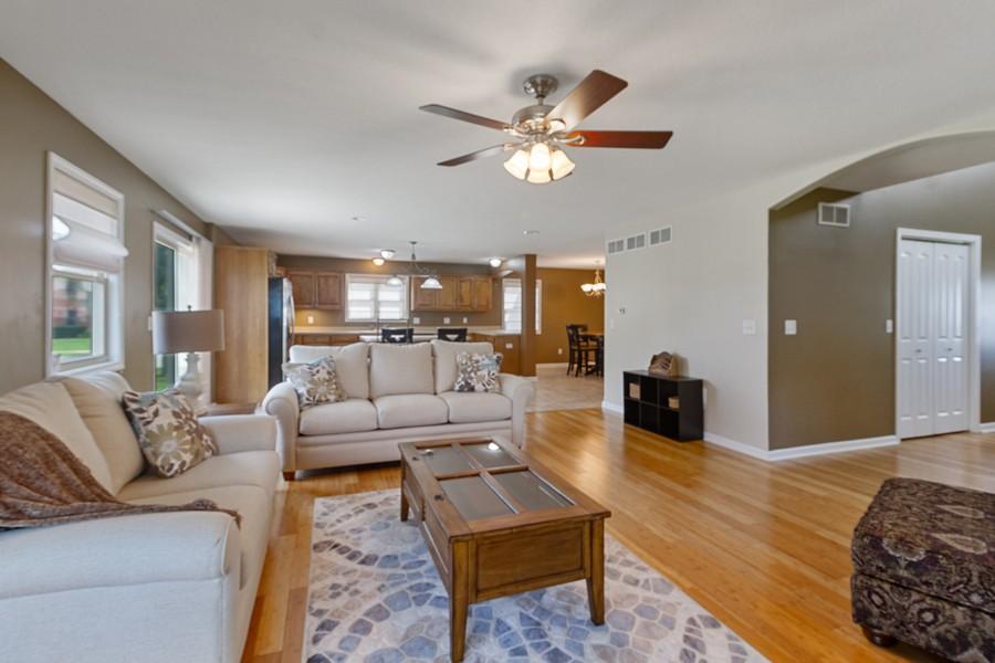 Real Estate Photography - 1726 Bridle Ct, Bourbonnais, IL, 60914 - Living Room