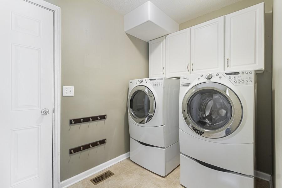 Real Estate Photography - 1726 Bridle Ct, Bourbonnais, IL, 60914 - Laundry Room