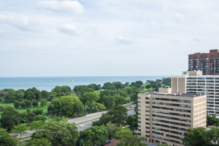Real Estate Photography - 4250 N Marine, Unit 1716, Chicago, IL, 60618 - Lake View
