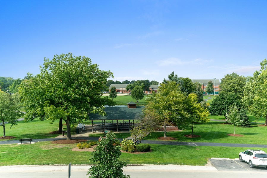 Real Estate Photography - 32 Blodgett Avenue, Clarendon Hills, IL, 60514 - View of Prospect Park from one of the windows
