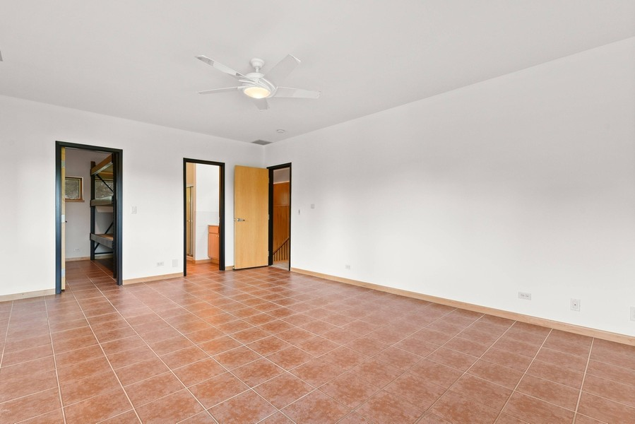 Real Estate Photography - 32 Blodgett Avenue, Clarendon Hills, IL, 60514 - 2nd Bedroom has radiant heated floors