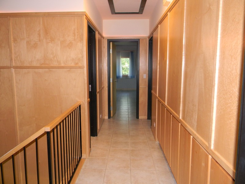 Real Estate Photography - 32 Blodgett Avenue, Clarendon Hills, IL, 60514 - 2nd floor hallway - Maple Walls w/lots of storage