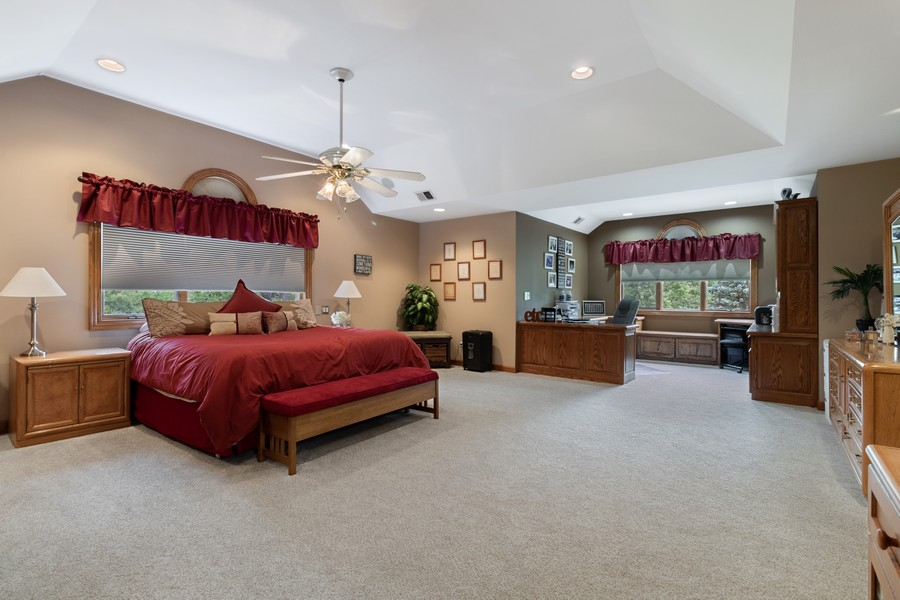 Real Estate Photography - 7835 W. McCarthy Rd., PALOS PARK, IL, 60464 - Master Bedroom