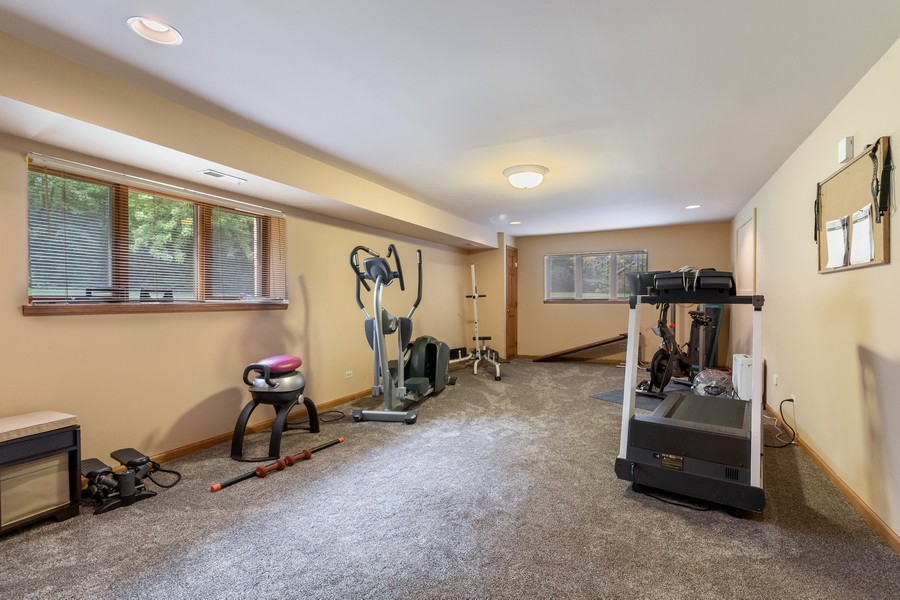 Real Estate Photography - 7835 W. McCarthy Rd., PALOS PARK, IL, 60464 - Exercise Room