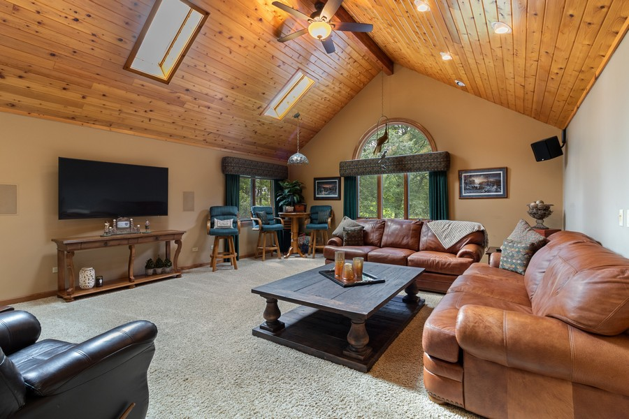 Real Estate Photography - 7835 W. McCarthy Rd., PALOS PARK, IL, 60464 - Family Room