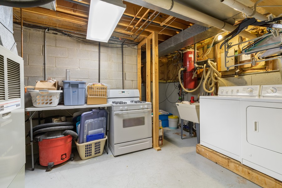 Real Estate Photography - 7835 W. McCarthy Rd., PALOS PARK, IL, 60464 - Laundry Room