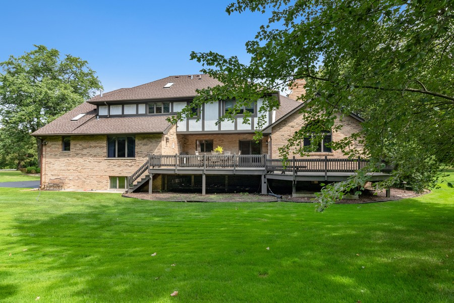 Real Estate Photography - 7835 W. McCarthy Rd., PALOS PARK, IL, 60464 - Rear View