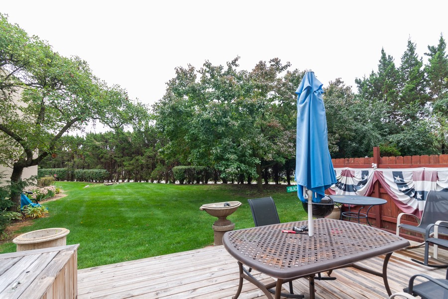Real Estate Photography - 6 Maple Tree Ct, Elmhurst, IL, 60126 - Back Yard