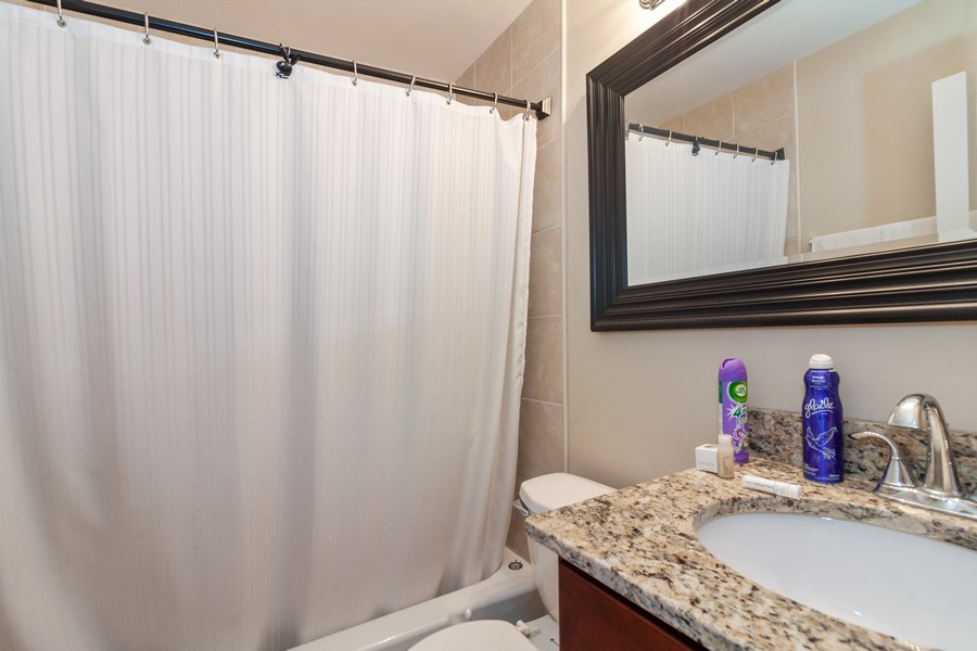 Real Estate Photography - 6 Maple Tree Ct, Elmhurst, IL, 60126 - 2nd Bathroom