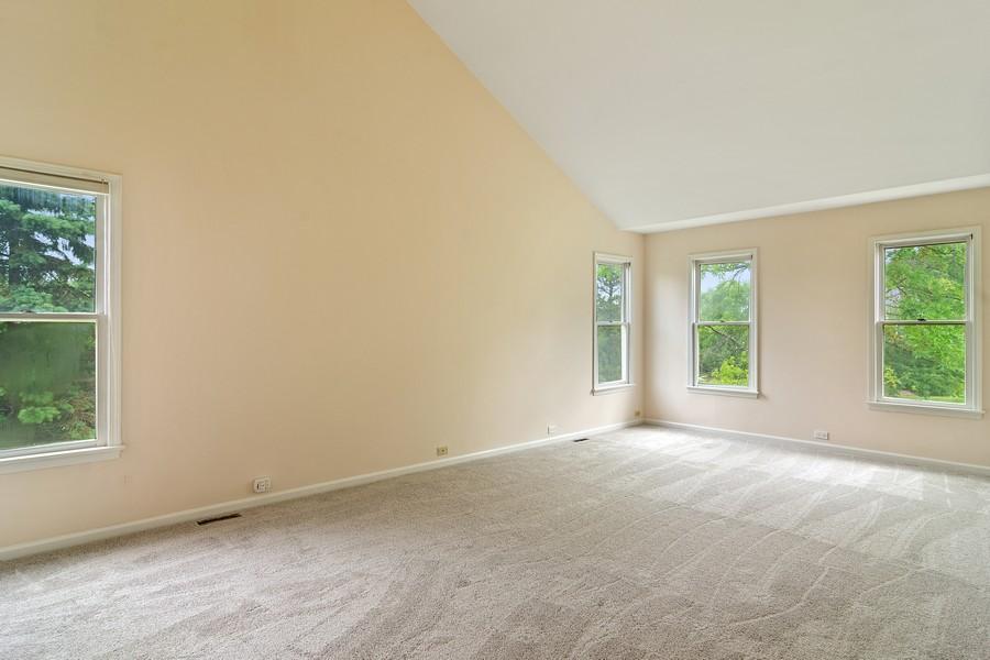 Real Estate Photography - 23907 Lancaster Ct, Deer Park, IL, 60010 - Master Bedroom