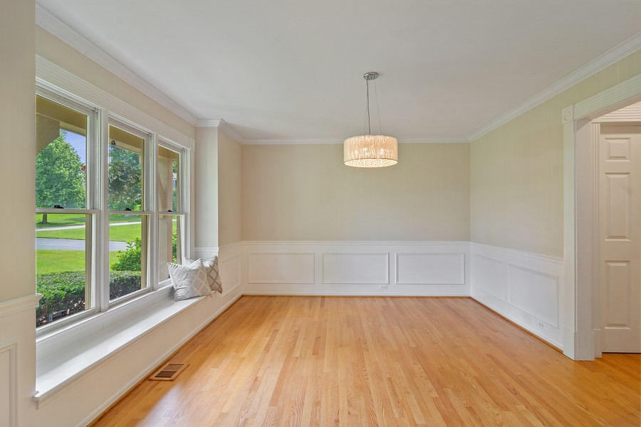 Real Estate Photography - 23907 Lancaster Ct, Deer Park, IL, 60010 - Dining Room