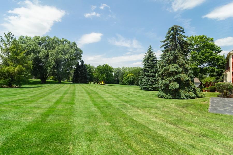 Real Estate Photography - 23907 Lancaster Ct, Deer Park, IL, 60010 - Back Yard