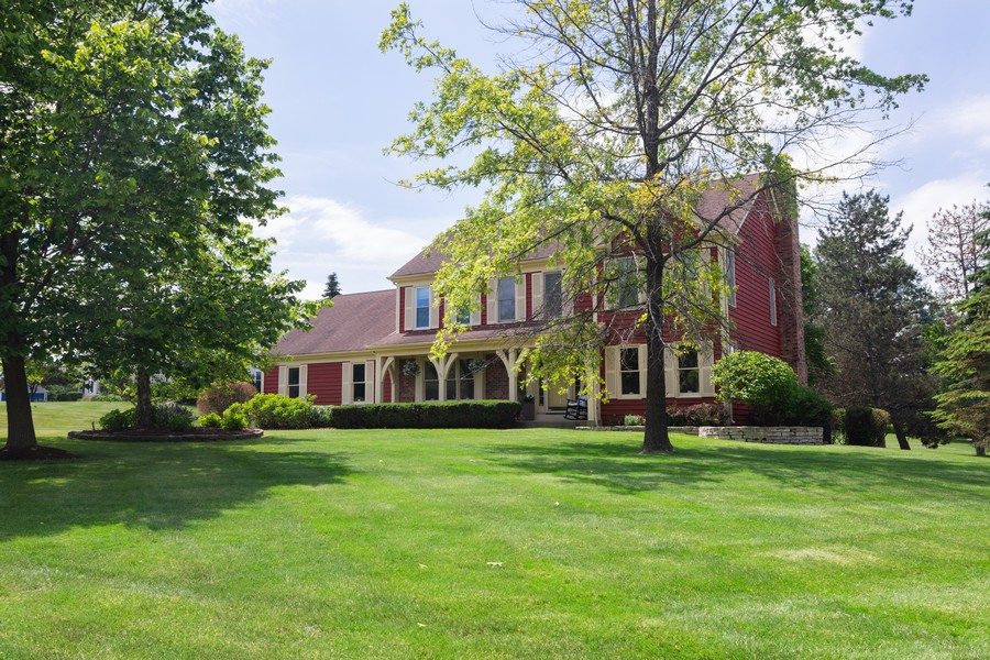 Real Estate Photography - 23907 Lancaster Ct, Deer Park, IL, 60010 - Front View