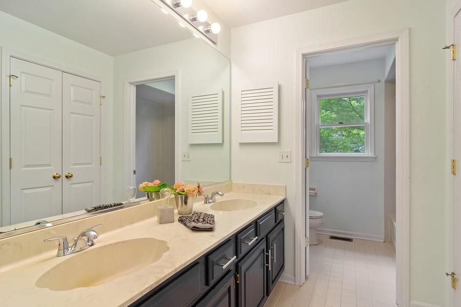 Real Estate Photography - 23907 Lancaster Ct, Deer Park, IL, 60010 - Bathroom