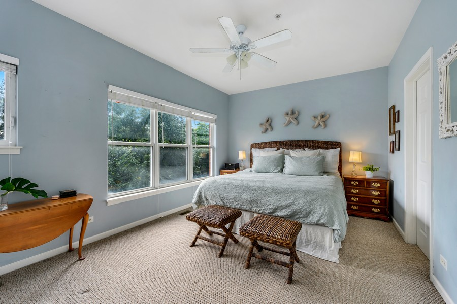 Real Estate Photography - 525 South Boulevard, Evanston, IL, 60202 - Master Bedroom