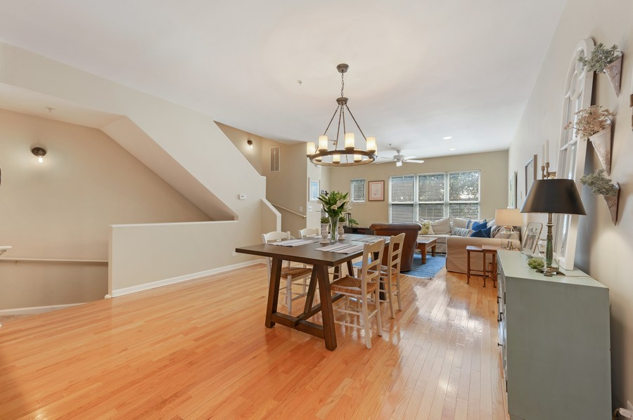 Real Estate Photography - 525 South Boulevard, Evanston, IL, 60202 - Dining Room