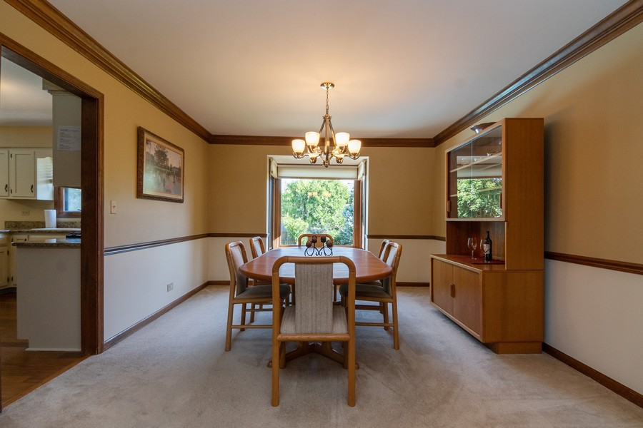 Real Estate Photography - 1519 Laburnum Rd, Hoffman Estates, IL, 60192 - Dining Room