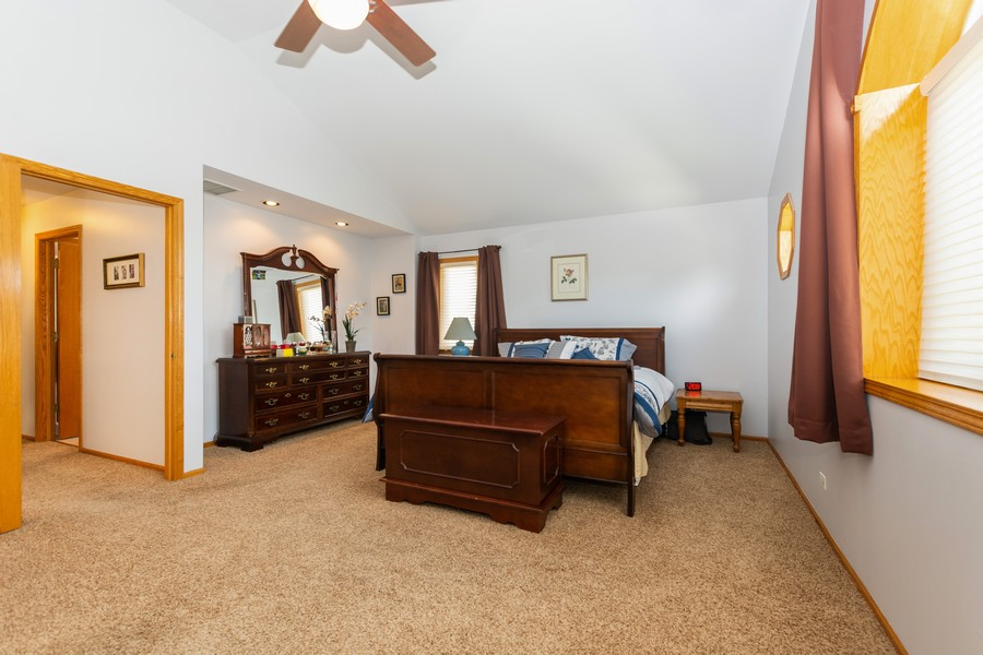 Real Estate Photography - 5118 s. Nagle, chicago, IL, 60638 - Master Bedroom