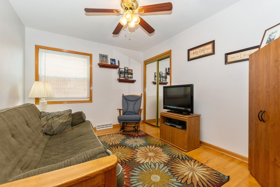 Real Estate Photography - 5118 s. Nagle, chicago, IL, 60638 - 4th Bedroom