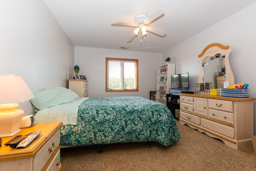 Real Estate Photography - 5118 s. Nagle, chicago, IL, 60638 - Bedroom