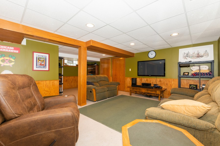 Real Estate Photography - 5118 s. Nagle, chicago, IL, 60638 - Family Room