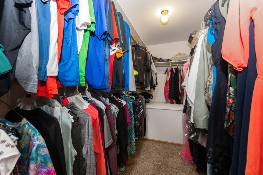 Real Estate Photography - 5118 s. Nagle, chicago, IL, 60638 - Master Bedroom Closet