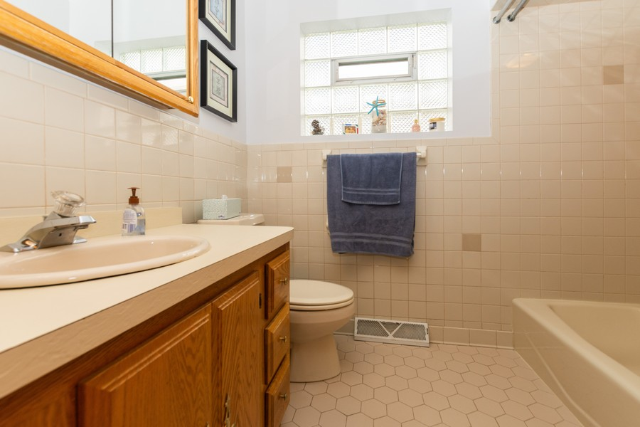 Real Estate Photography - 5118 s. Nagle, chicago, IL, 60638 - Bathroom