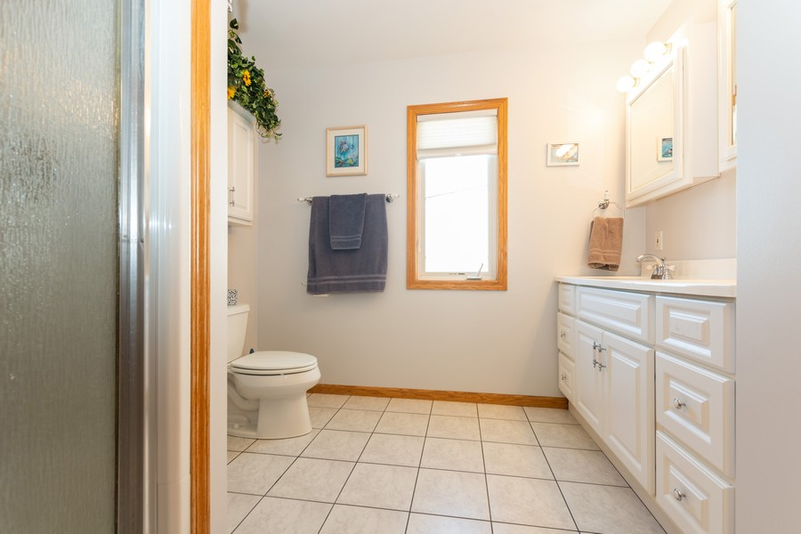 Real Estate Photography - 5118 s. Nagle, chicago, IL, 60638 - 2nd Bathroom