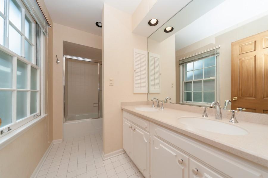 Real Estate Photography - 635 Carlisle Ave, Deerfield, IL, 60015 - Master Bathroom