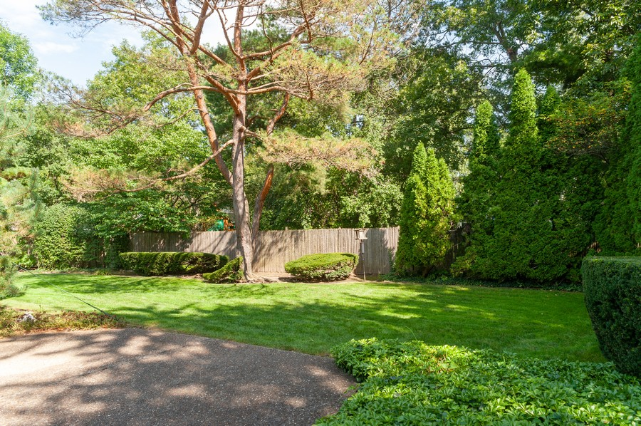 Real Estate Photography - 635 Carlisle Ave, Deerfield, IL, 60015 - Back Yard