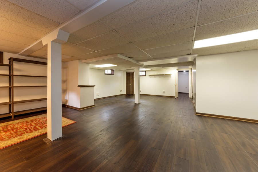 Real Estate Photography - 131 W. Russell Street, Barrington, IL, 60010 - FINISHED LOWER LEVEL