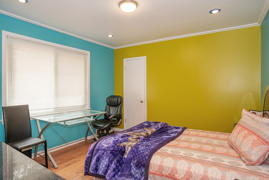 Real Estate Photography - 2145 Brummel Ave, Evanston, IL, 60202 - 3rd Bedroom