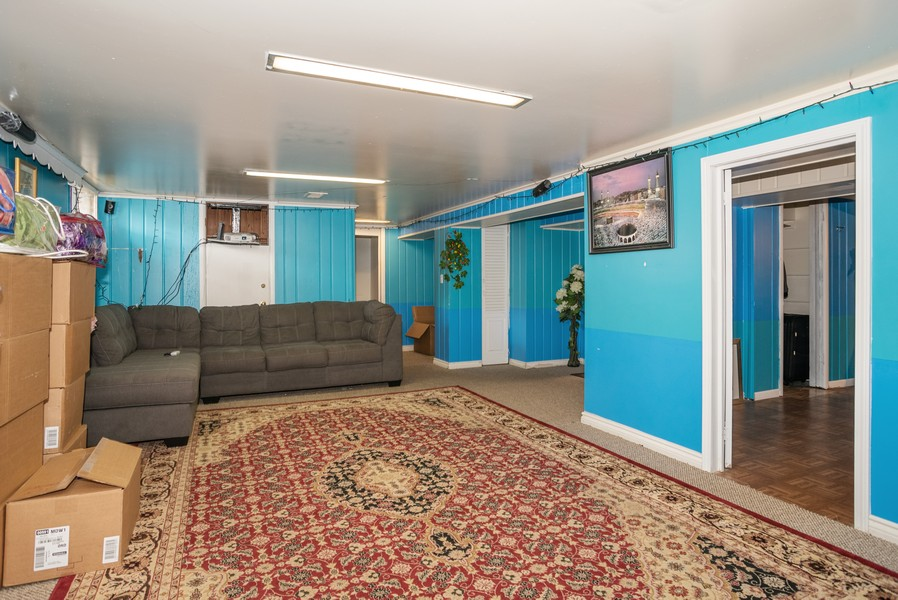 Real Estate Photography - 2145 Brummel Ave, Evanston, IL, 60202 - Family Room