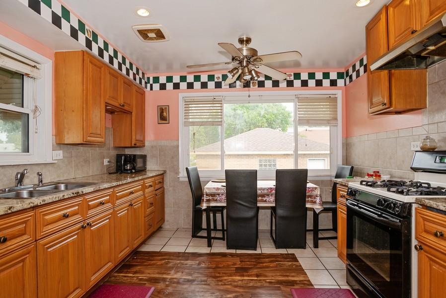 Real Estate Photography - 2145 Brummel Ave, Evanston, IL, 60202 - Kitchen