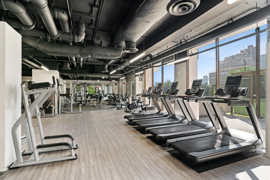 Real Estate Photography - 2020 N Lincoln Park West 26D, Chicago, IL, 60614 - Gym