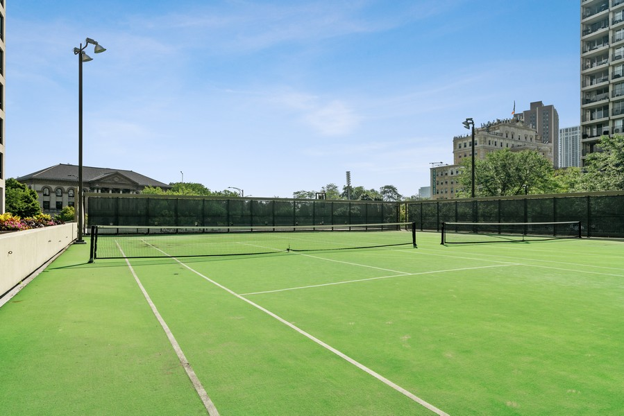 Real Estate Photography - 2020 N Lincoln Park West 26D, Chicago, IL, 60614 - Tennis Court