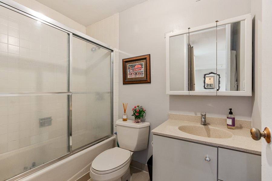 Real Estate Photography - 2020 N Lincoln Park West 26D, Chicago, IL, 60614 - Bathroom