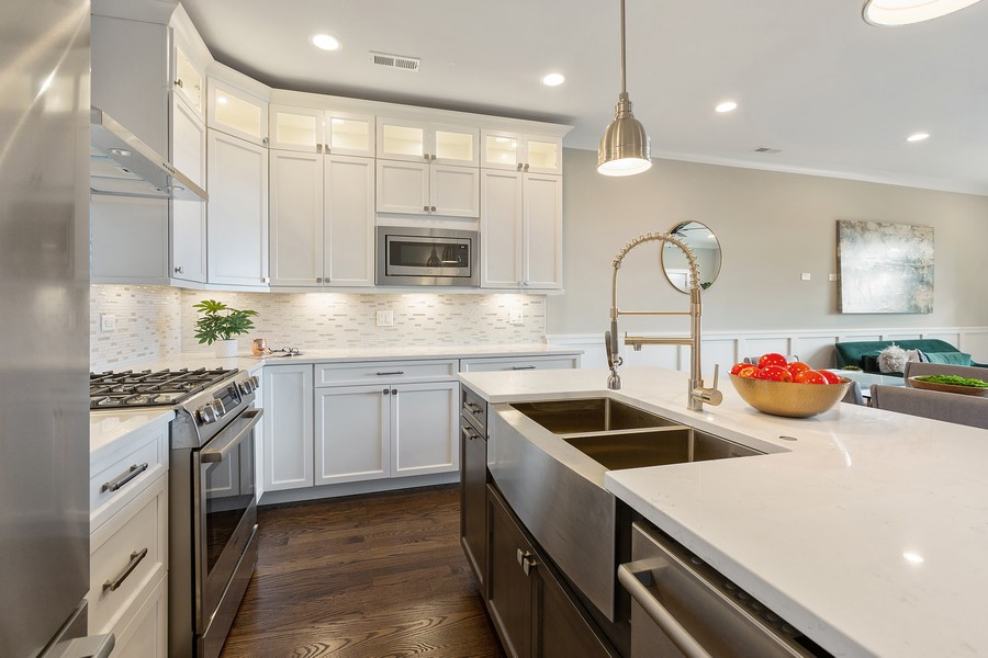 Real Estate Photography - 2514 W. Diversey, Chicago, IL, 60647 - Kitchen