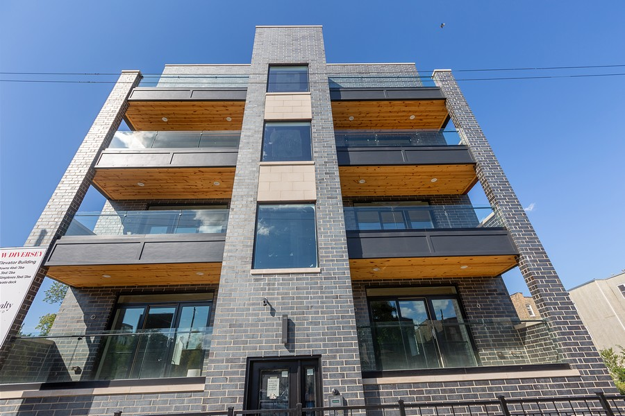 Real Estate Photography - 2514 W. Diversey, Chicago, IL, 60647 - Front View